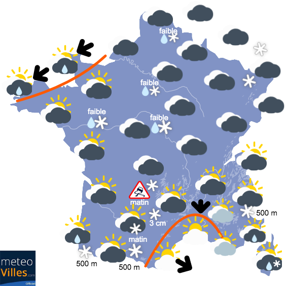 Nouvelles chutes de neige en vue dans le Midi ?