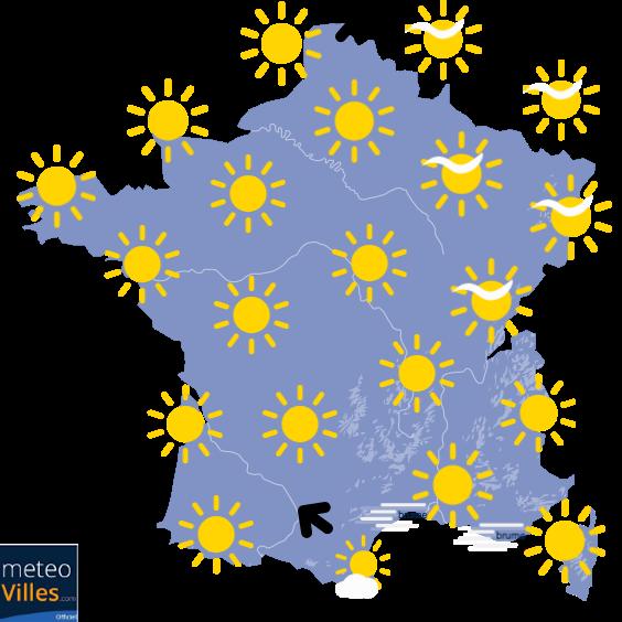 4 jours de temps estival !
