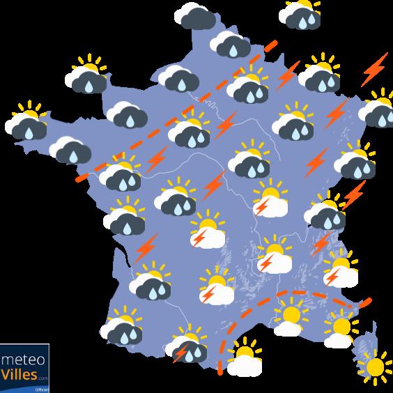 Meteo-villes.com - carte de France