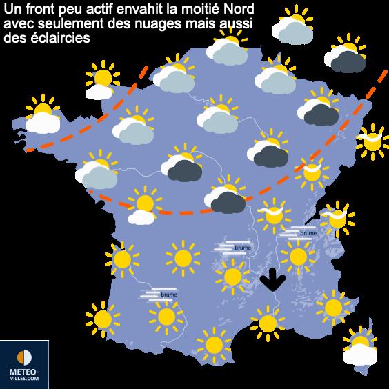 Pas de pluies significatives au moins jusqu'à dimanche